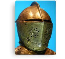 Gilt Armour,Charles 1. White Tower,Tower of London Canvas Print