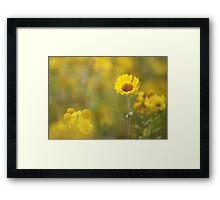 yellow !! Framed Print