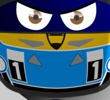Fernando ALONSO_Helmet 2015 #14 Sticker