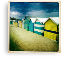 Brighton Beach box Melbourne Canvas Print