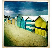 Brighton Beach box Melbourne Photographic Print