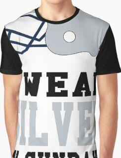 I Wear Silver on Sundays Graphic T-Shirt