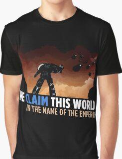 We claim this world Graphic T-Shirt