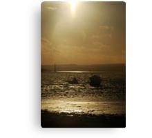 Beached - Holy Island, Northumberland Canvas Print