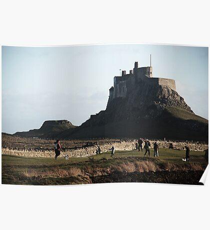 Holy Island - Holy Island, Northumberland Poster