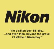 Nikon boy 'till i die! Baby Tee