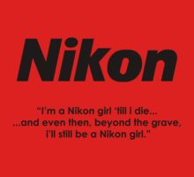 Nikon girl 'till i die! One Piece - Short Sleeve