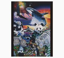 Ebony and Ivory by Graeme  Stevenson