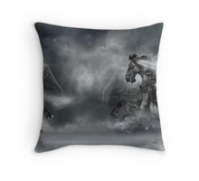 'Fighting The Good Fight' Throw Pillow