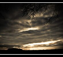 Lincolnshire sundown by LincolnDispImgs