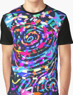 Color explosion Graphic T-Shirt