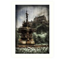 Edinburgh Castle ( Infrared ) Art Print