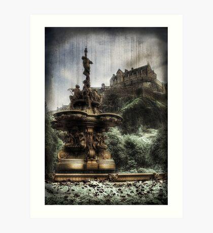 Edinburgh Castle ( Infrared ) Art Print