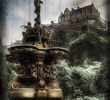 Edinburgh Castle ( Infrared ) by Don Alexander Lumsden (Echo7)