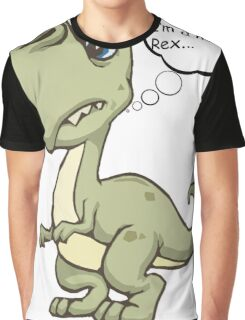 Nervous rex Graphic T-Shirt