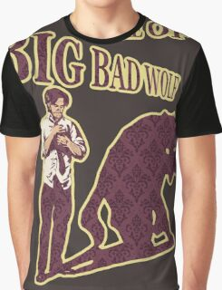 Beware of Big Bad Wolf Graphic T-Shirt