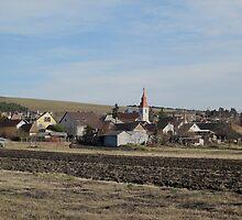 view of village Vachartyany_Hungary2012jan by ambrusz