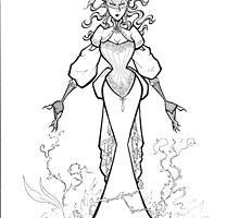Edwardian Poison Ivy by bevismusson