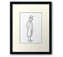 Edwardian Penguin Framed Print
