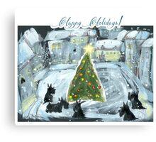 Happy Holidays _TM 1 Canvas Print