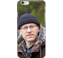 Portrait of man in light of the natural iPhone Case/Skin