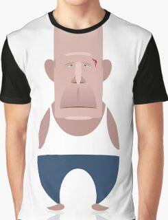 Bruce Willis - Die Hard Graphic T-Shirt
