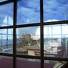 4 Round windows  Port Pirie museum by peterthompson