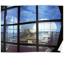 4 Round windows  Port Pirie museum Poster