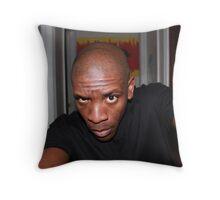 Photo of an Artist Throw Pillow