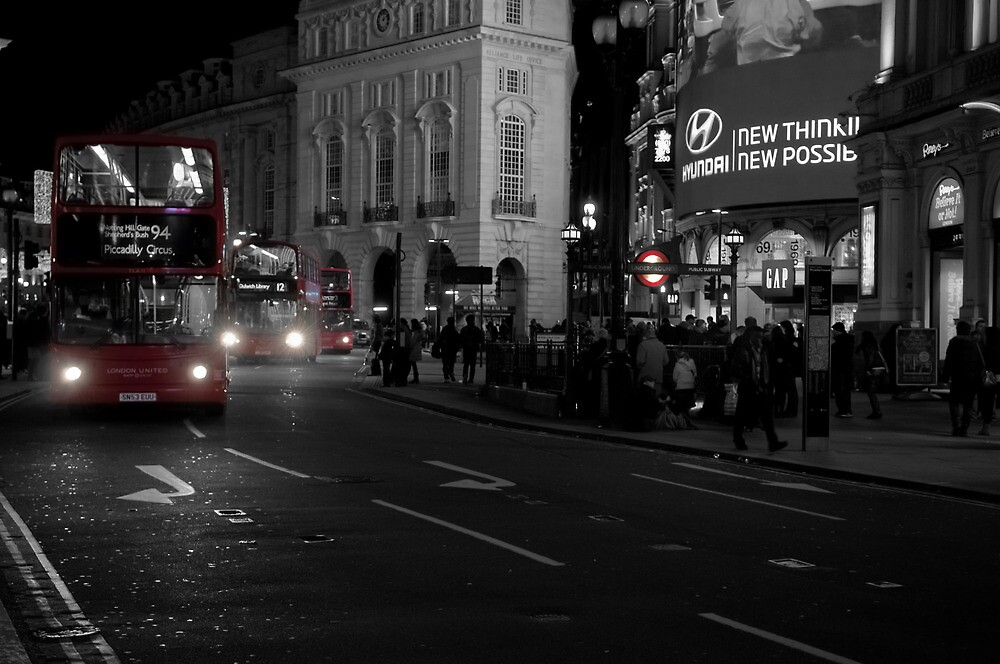 London United by Alex Chartonas