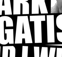I am Mark Gatiss and I will kill again Sticker