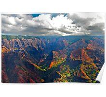 Hawaiian Valley Poster