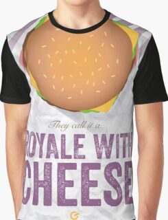Royale With Cheese - Pulp Fiction Graphic T-Shirt