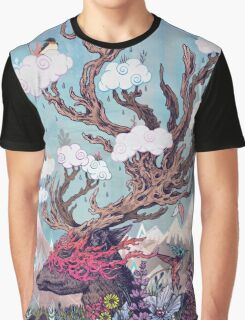 Journeying Spirit (deer) Graphic T-Shirt