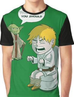 Sometimes the force is not enough. Graphic T-Shirt