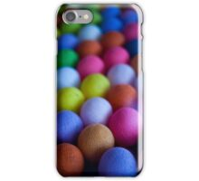 Coloured spheres iPhone Case/Skin