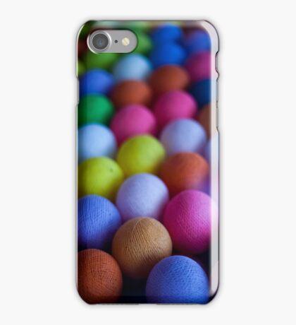 Coloured spheres iPhone Case/Skin