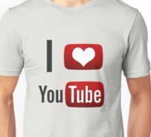 I Heart Youtube! Unisex T-Shirt