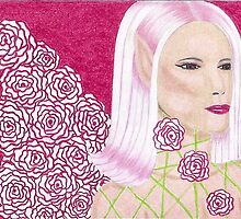 Rose Winged Fairy (pink) by artbymarie