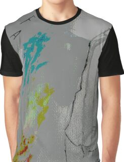Falling posterized Graphic T-Shirt