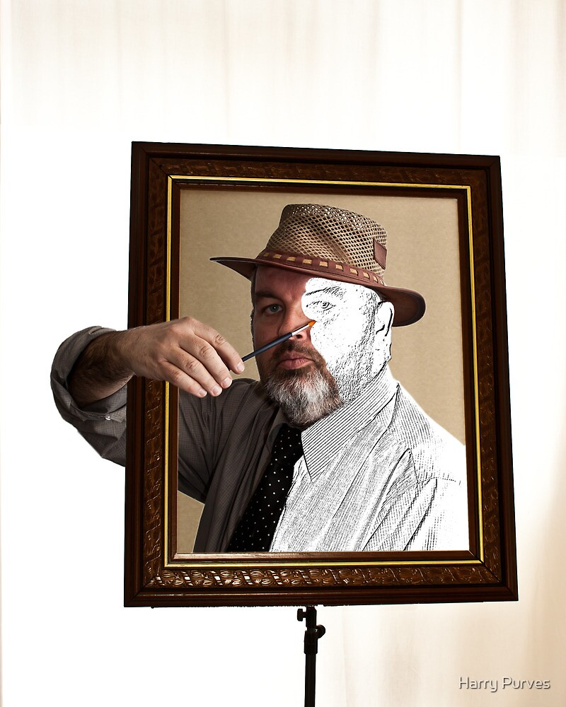 Self Portrait by Harry Purves
