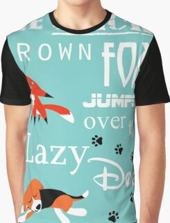 Quick Brown Fox Graphic T-Shirt