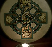 Drum and candle by Sarah Horsman