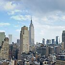 Afternoon Above Midtown Manhattan by SomeGuyInNJ