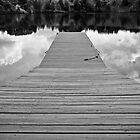 Pier Reflections by Marcia Rubin