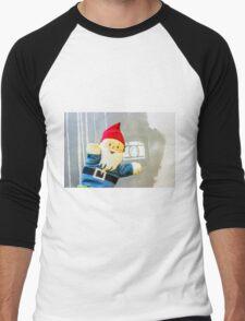 Camera Gnome Men's Baseball ¾ T-Shirt