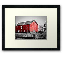 Bainbridge Barn Framed Print