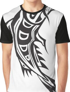 Northwest Native Indian fish totem (vertical) Graphic T-Shirt