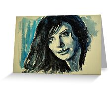 Lois (Erica Durance) featured in The Group  Greeting Card