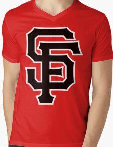Giants Mens V-Neck T-Shirt